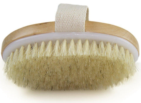 Sundaypop™  Dry Skin Body Brush - Improves Skin's Health And Beauty - Natural Bristle - Remove Dead Skin And Toxins, Cellulite Treatment