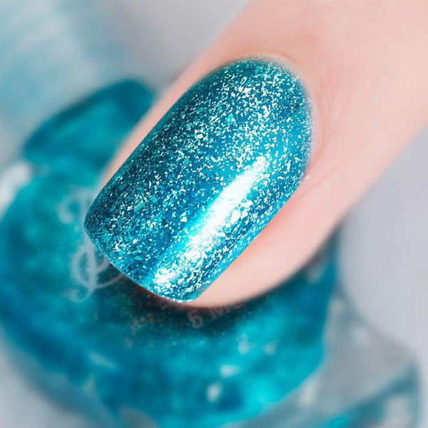 Sundaypop™  5 ml Water-based Nude Color Nail Polish can be Stripped and Tasteless Tearing Sequins Nail Polish