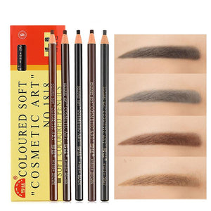 Pull eyebrow pencil tearing eyebrow powder makeup pen