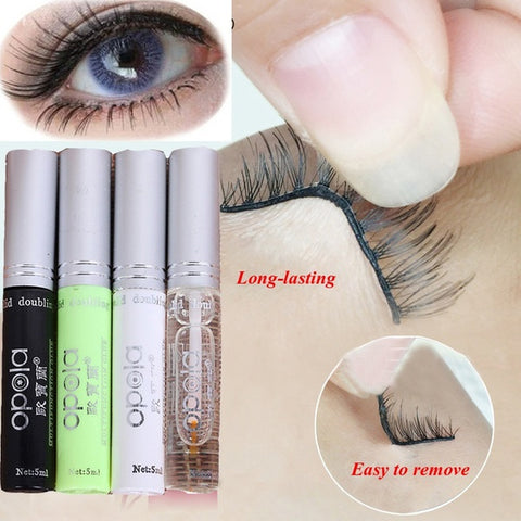 Professional 4 Style Eyelashes Glue False Eyelash Extension Beauty Makeup Adhesive Double Eyelid
