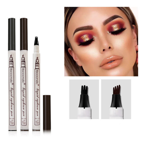 Subtle eyebrow pencil Four eyebrow pencil Micro-eyebrow pencil Four-pronged eyebrow pencil