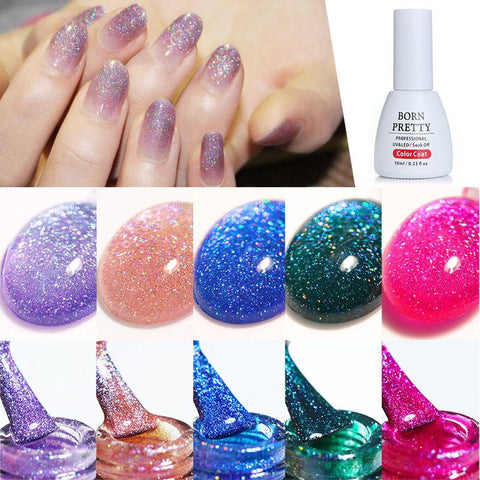 Sundaypop™ Rainbow Chameleon Star Glue Magic Nail Glue