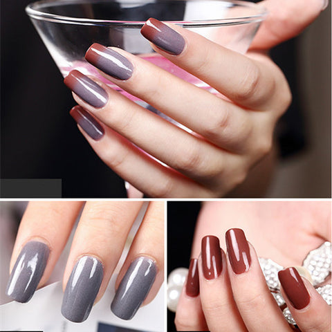 Sundaypop™ Temperature Change Nail Polish Change Color Temperature Control Health Lasting