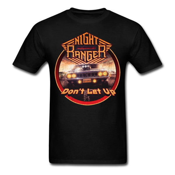 Night Ranger Don't Let Up Circle Tee