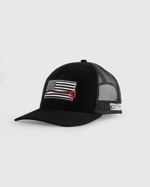 """The Thin Red Line"" Trucker Cap"
