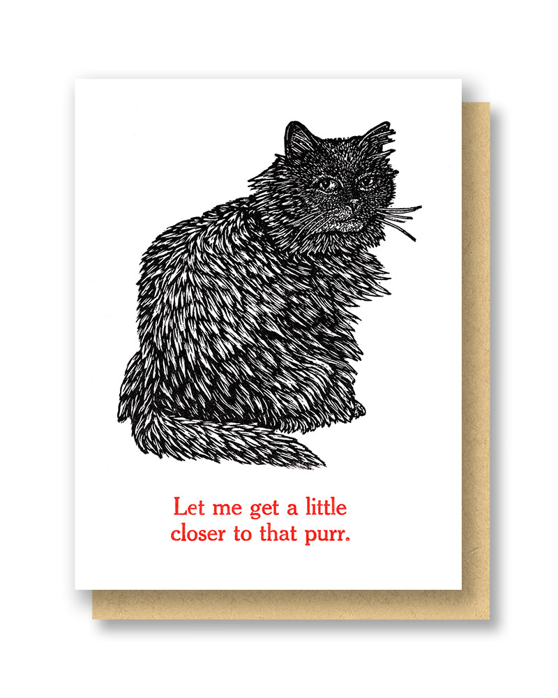 That Purr Love Card