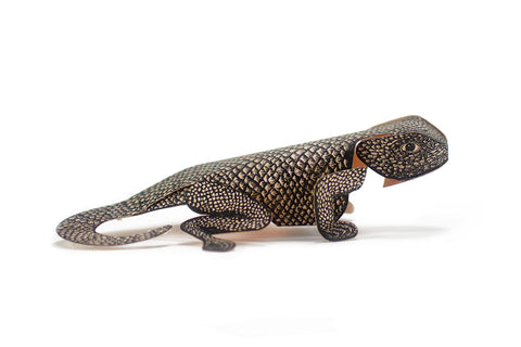Lizard Paper Sculpture