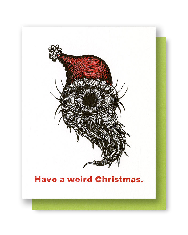 X-mas Weird Christmas Card
