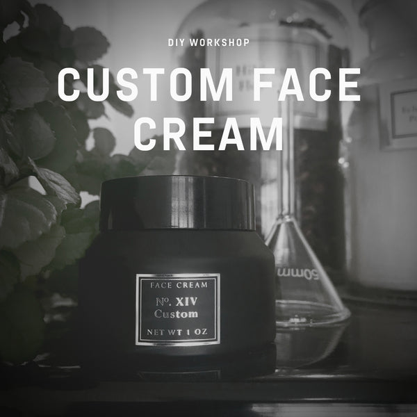 Custom Face Cream Workshop