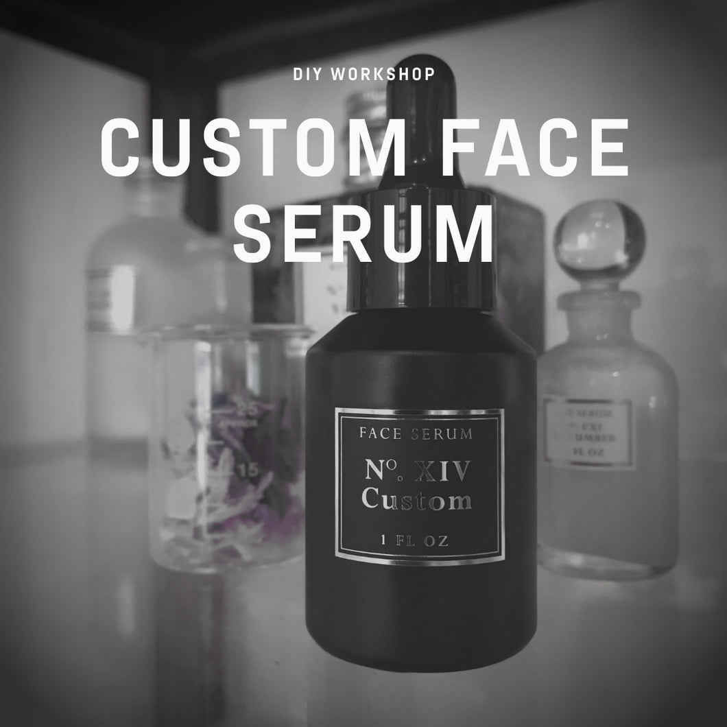 Face Serum Workshop
