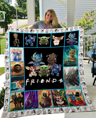 Limited Edition ! Cuteness Quilt Blanket