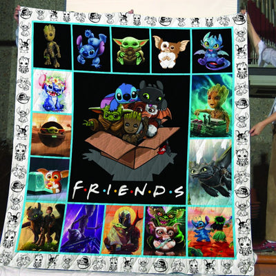 Limited Edition ! The Cuteness Quilt Blanket