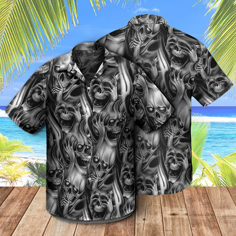 Hawaii Skull Shirt and Shorts