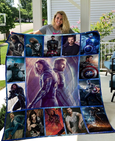 Limited Edition ! Bucky Cap MV Quilt Blanket