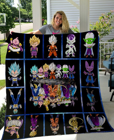 Limited Edition ! Dragon Ball Quilt Blanket