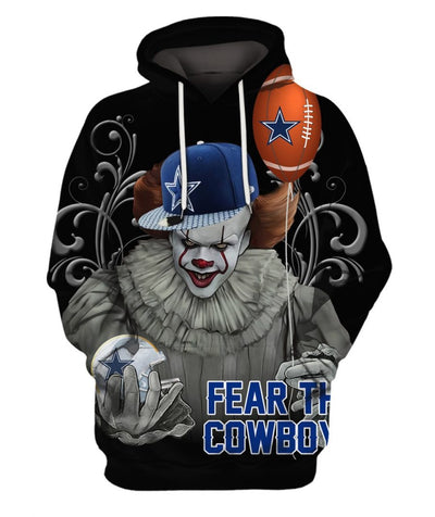 Limited Edition -  Fear the CB Fullprint Hoodie