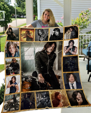 Limited Edition ! Daryl Quilt Blanket