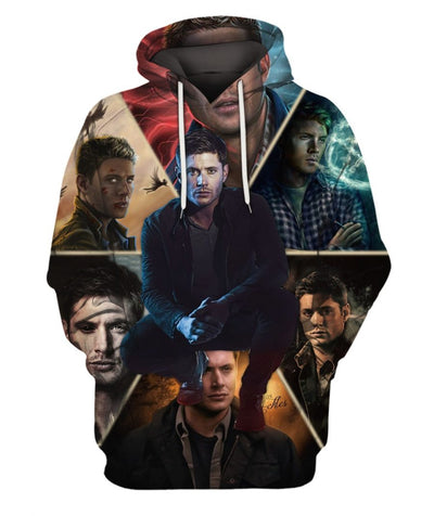 Limited Edition -  SPN Dean Wins Fullprint Hoodie