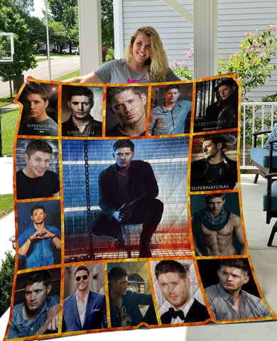 Limited Edition ! Dean Win Quilt Blanket
