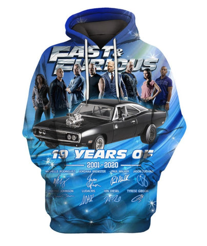 Limited Edition -  F&F Lovers Fullprint Hoodie