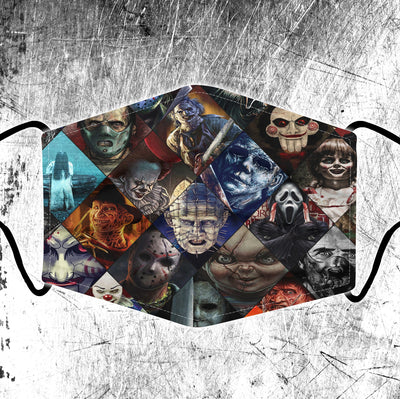 Horror Full printed Face Mask PGC
