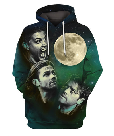 Limited Edition -  SPN MOON Fullprint Hoodie