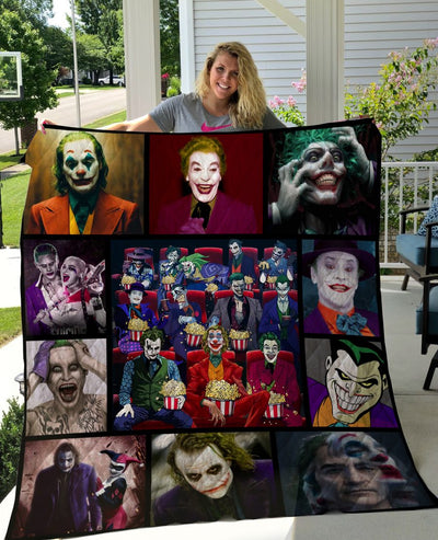 Limited Edition ! Joker Quilt Blanket