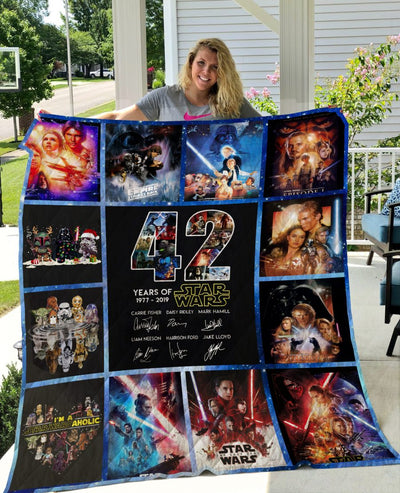 Limited Edition ! SWars Quilt Blanket