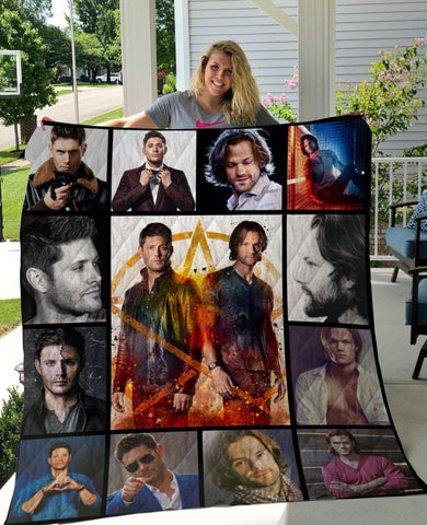 Limited Edition ! SPN Winchester Quilt Blanket
