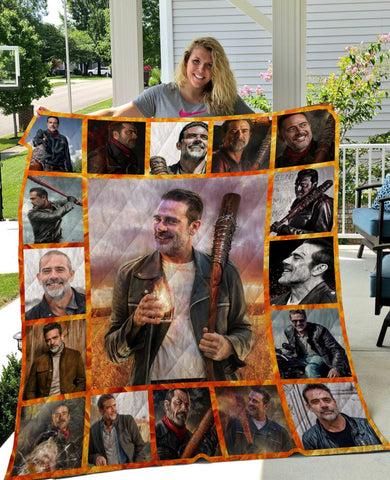 Limited Edition ! Negan Quilt Blanket