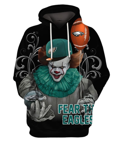 Limited Edition -  Eagles Lovers Fullprint Hoodie