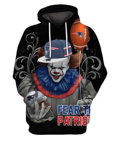 Limited Edition -  PNW-Patriots Fullprint Hoodie