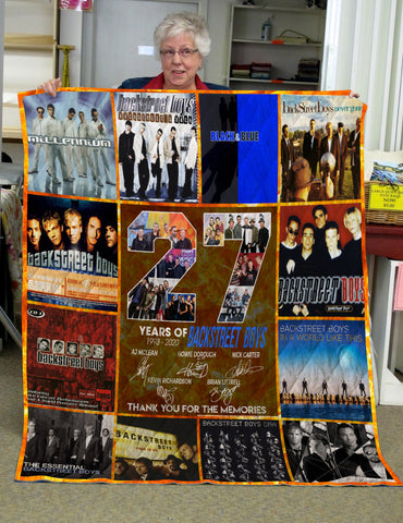 Limited Edition ! BSB Lovers Quilt Blanket