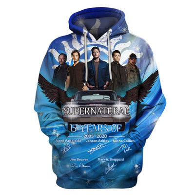 Limited Edition -  SPN Lovers Full Hoodie