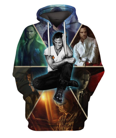 Limited Edition -  SPN Sam Fullprint Hoodie