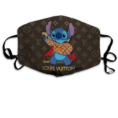 Stitch Full printed Face Mask