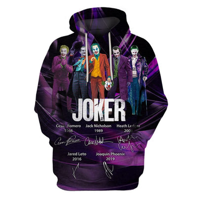 Limited Edition -  JK Legends Lovers Fullprint Hoodie