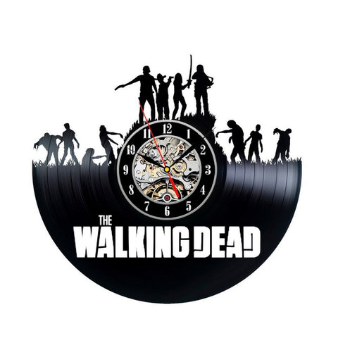 Wall Clock Modern Design TWD Film Home Decoration Watch
