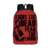 Daryl Dixon Backpack For Teenage Negan Team Children School Bags Backpacks Women Men Casual Daypack Boys Bags