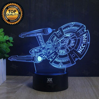 Star Wars Lamp Darth Vader Anakin Skywalker 3D Lamp BB-8 LED