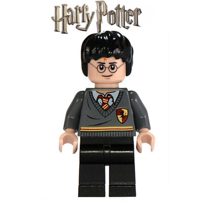 1PC Harry Potter Building Blocks Dumbledore Hermione Ron Death Eater Lord Voldemort Draco Malfoy diy figures Bricks Kids Toys