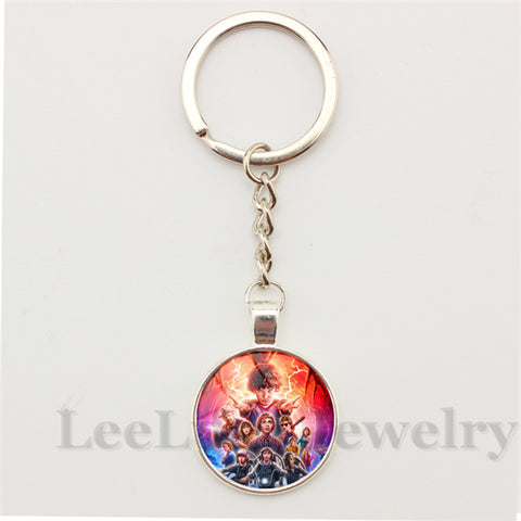 Hot Tv jewelry Stranger Things pendant keychain