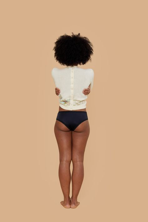Period Underwear | Cheeky | Black