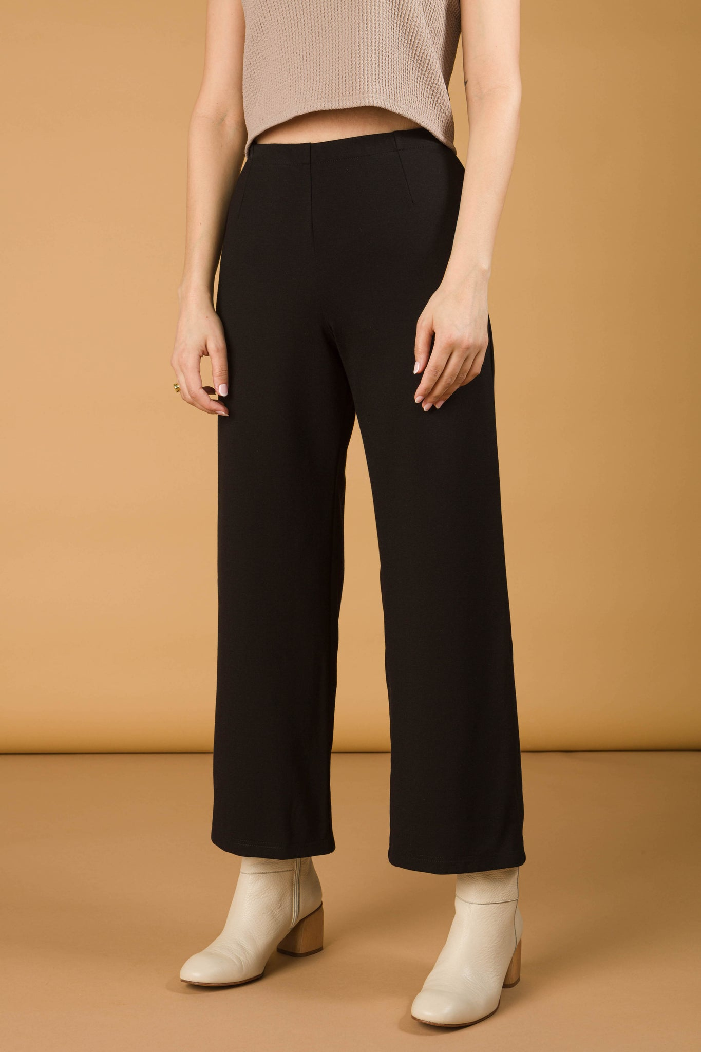 Pantalon Flare long | Noir