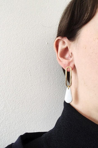 Boucles Marion | Blanc