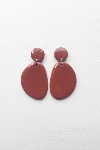 Boucles Olive | Terracotta