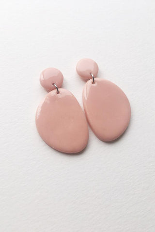 Boucles Olive | Rose