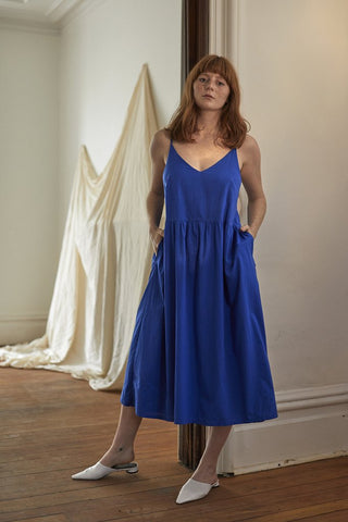 Delphine dress | Bluebell •