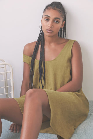 Marigold Dress | Olive