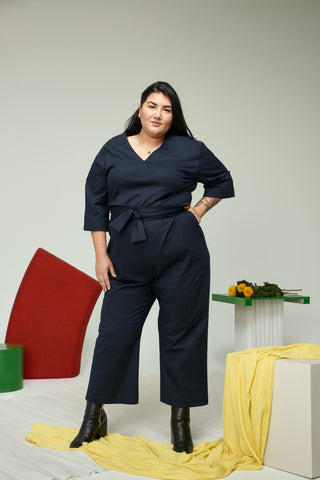 Monique jumpsuit | Navy Blue